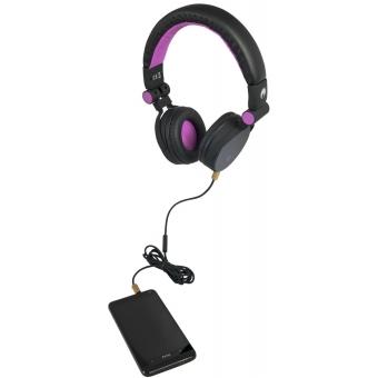 OMNITRONIC SHP-i3 Stereo Headphones pink #2