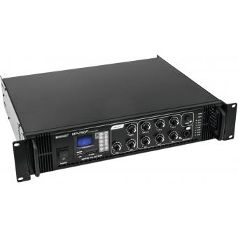 OMNITRONIC MP-250P PA Mixing Amplifier #2