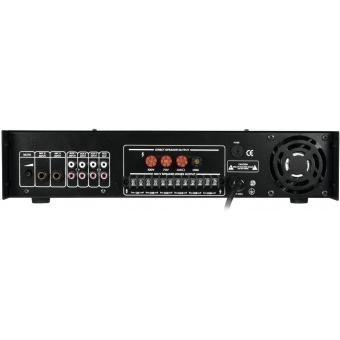 OMNITRONIC MPZ-250.6P PA Mixing Amplifier #3