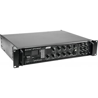 OMNITRONIC MPVZ-120.6P PA Mixing Amp #9