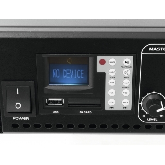 OMNITRONIC MPVZ-350.6P PA Mixing Amp #4