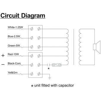 HONEYWELL Projector Speaker L-VJM10A/EN IP65(EN54) #9