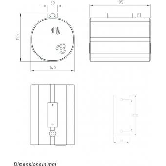 HONEYWELL Projector Speaker L-VBM20A/EN IP65(EN54) #5