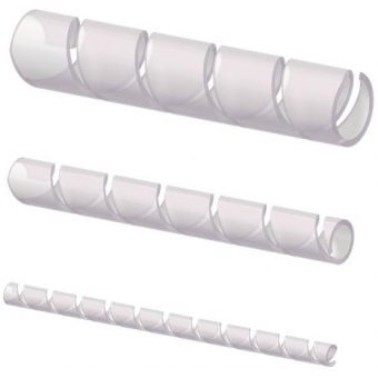 ACW106/T - Transparent Spiral Wrappingband - 6mm - 10m Pack