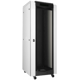 """APR323 - 19"""" Rack For 32 Units - Glassfront And Steel Rear Door"""