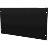 "BSF04 - 19"" Blind Cover, Steel, 4units, Black"