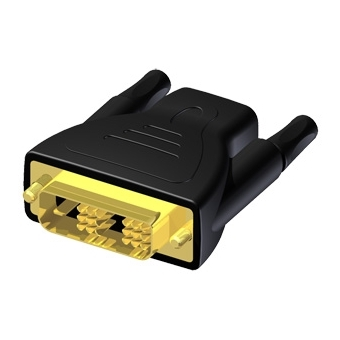 BSP420 - Adapter HDMI 19 female to DVI male - Single Link - Single Adapter