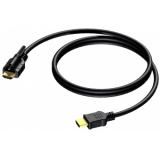 BSV103/2 - Hdmi A Cable 1.4 Singlelocking - 30awg - 2m