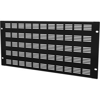 """BSV05 - 19"""" Blind Cover,steel,5units,ventilated,black"""