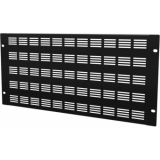 "BSV05 - 19"" Blind Cover,steel,5units,ventilated,black"