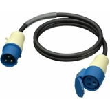 CAB450/5 - Extension Cable Cee 16a Male -female - H07rn-f3g2.5 - 5m