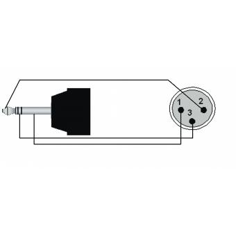 CAB714/3 - Mini Jack Male Stereo - Xlrmale - 3m #2