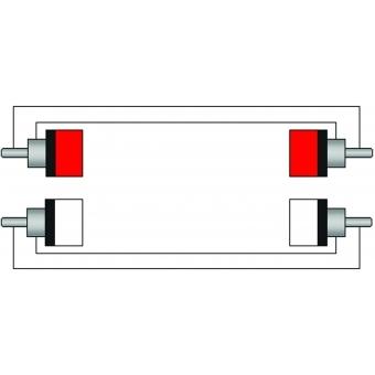 CAB820/5 - 2x Rca/cinch Male - 2x Rca/cinch Male - 5m - Heavy Duty #2