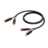 CAB820/5 - 2x Rca/cinch Male - 2x Rca/cinch Male - 5m - Heavy Duty