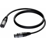 CAB901/1 - Xlr Male - Xlr Female - 1m