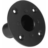CHB196/B - Flush Mount Head Base For Speaker Cabinet 35mm - Black