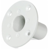 CHB196/W - Flush Mount Head Base For Speaker Cabinet 35mm - White