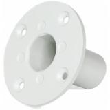 CHB196/W - Flush Mount Head Base For Speaker Cabinet 35mm - White