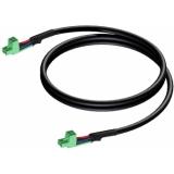 CLA530/2 - Loudspeaker cable - terminal block - terminal block (2p - 5.08mm) - 2 meter
