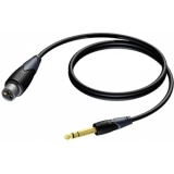 CLA723/1.5 - Xlr Female - Jack Male Stereo- 1.5m
