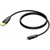 CLD614/1.5 - Usb A - Usb Micro B - 1.5m