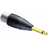 CLP121 - Adapter Xlr Female To 6.3mm Jack Male