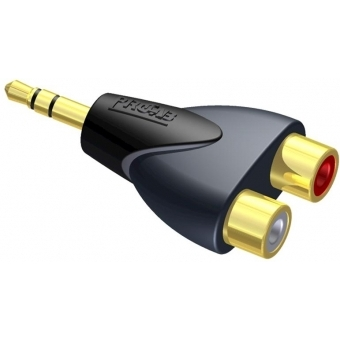 CLP211 - Adapter 2 X Rca/cinch Femaleto 3.5mm Jack Male Stereo