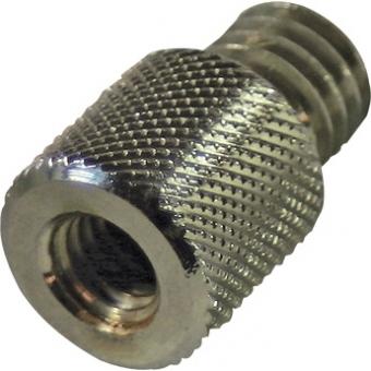 "CRD219 - Thread adapter. 3/8 female thread, 1/2"" male thread."