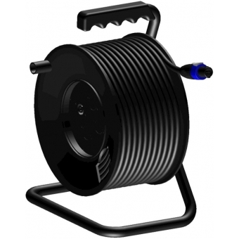 CRM425 - Cable Reel - Speaker Cable -4x2.5mm² - 25m