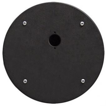 CRP301 - Center Connection Plate1 X D-size Hole - Alu