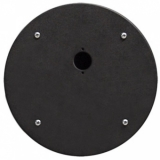 CRP301 - Center Connection Plate1 X D-size Hole - Alu