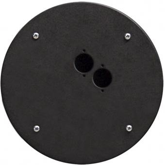 CRP302 - Center Connection Plate2 X D-size Hole - Alu
