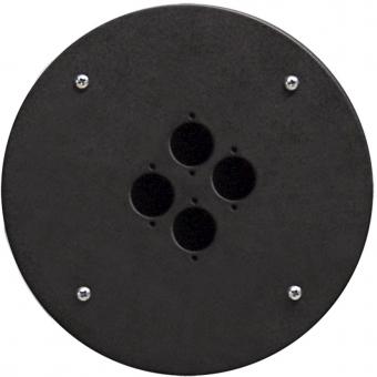 CRP304 - Center Connection Plate4 X D-size Hole - Alu