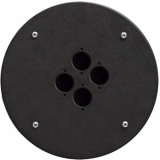CRP304 - Center Connection Plate4 X D-size Hole - Alu