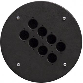 CRP308 - Center Connection Plate8 X D-size Hole - Alu