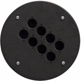 CRP308 - Center Connection Plate8 X D-size Hole - Alu