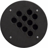 CRP310 - Center Connection Plate10 X D-size Hole - Alu