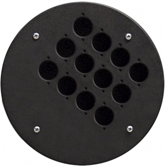 CRP312 - Center Connection Plate12 X D-size Hole - Alu