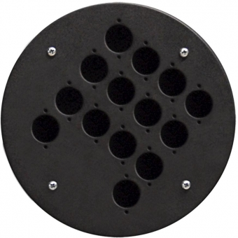 CRP314 - Center Connection Plate14 X D-size Hole - Alu