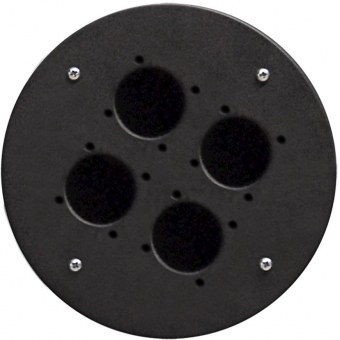 CRP340 - Center Connection Plate4 X Schuko Hole - Alu