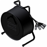 CRX08.0/10 - Cable Reel + Balanced Signal Cable 8 In - 10 Meter