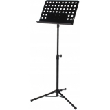 CST120_B - Compact, professional all-aluminium music stand.