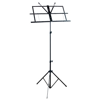 CST121_B - Compact, all-aluminium foldable music stand.
