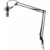 "CST238_B - Adjustable microphone desk arm with 3/8"" thread for studios and multi media workstations."