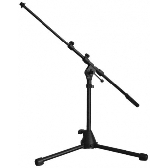 CST259/B - Microphone Drum Stand+boom-black-folding Legs