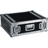 FC04 - Professional flightcase, separate front and rear cover - 4 U