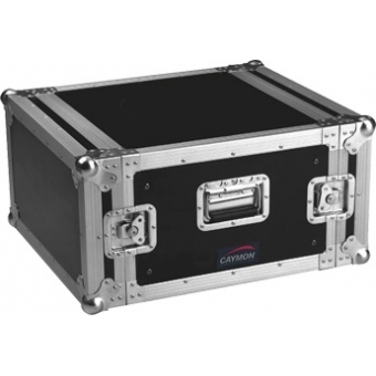 FC06 - Professional flightcase, separate front and rear cover - 6 U