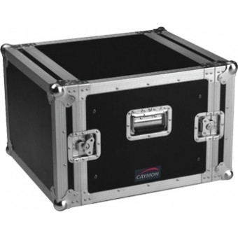 FC08 - Professional flightcase, separate front and rear cover - 8 U