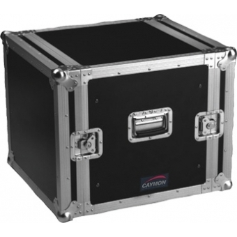 FC10 - Professional flightcase, separate front and rear cover - 10 U