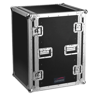 FC16 - Professional flightcase, separate front and rear cover - 16 U